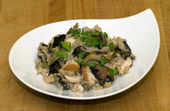 ... » Blog Archive » Risotto with Chicken, Artichokes, and Mushrooms