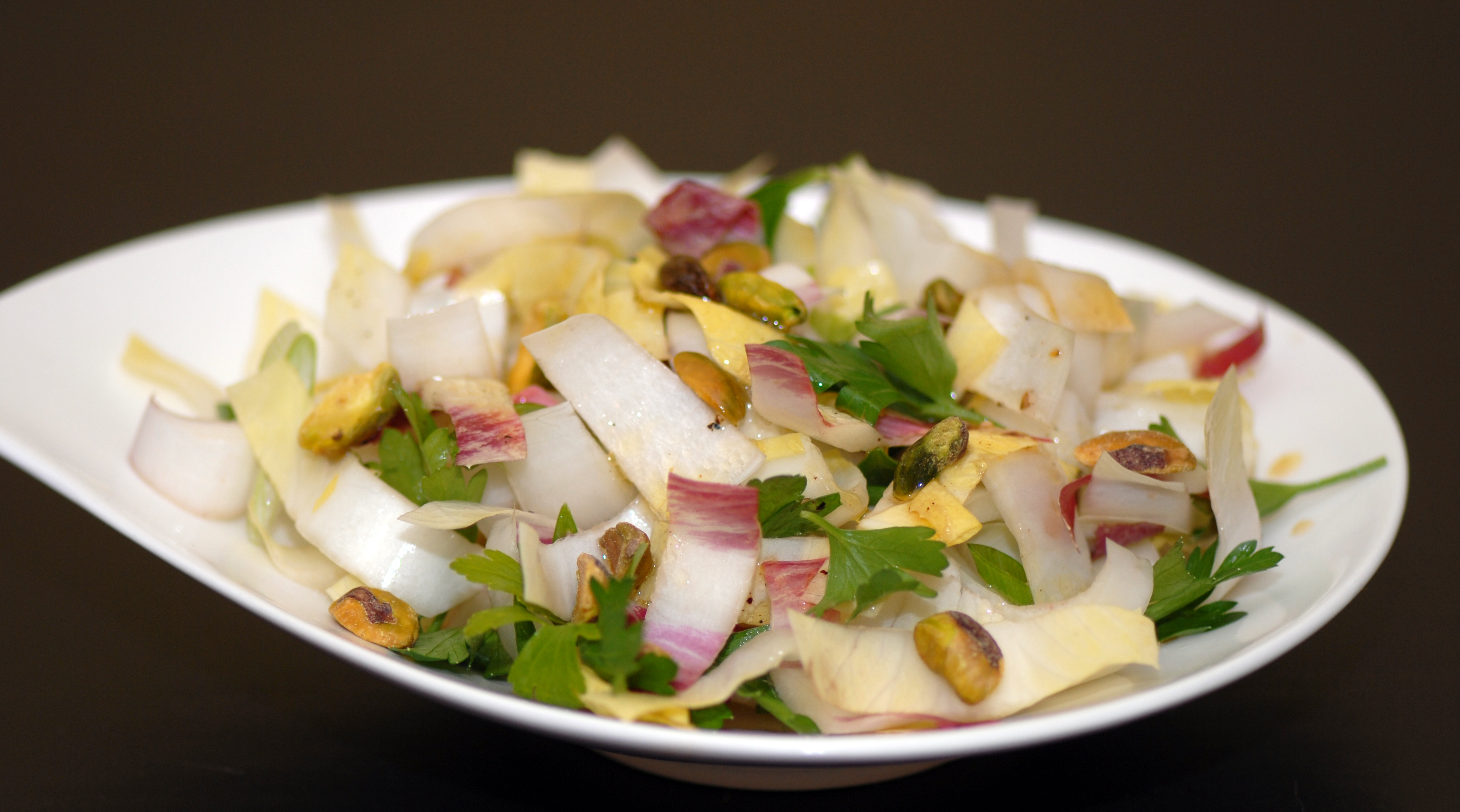 Endive and Pistachio Salad